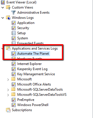Top 9 Windows Event Log Tips Using C#