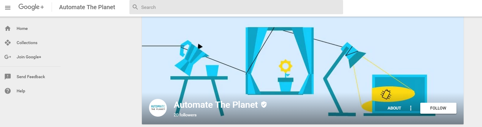 Automate The Planet G+