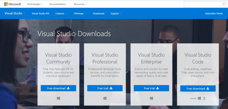 Visual Studio Enterprise Download