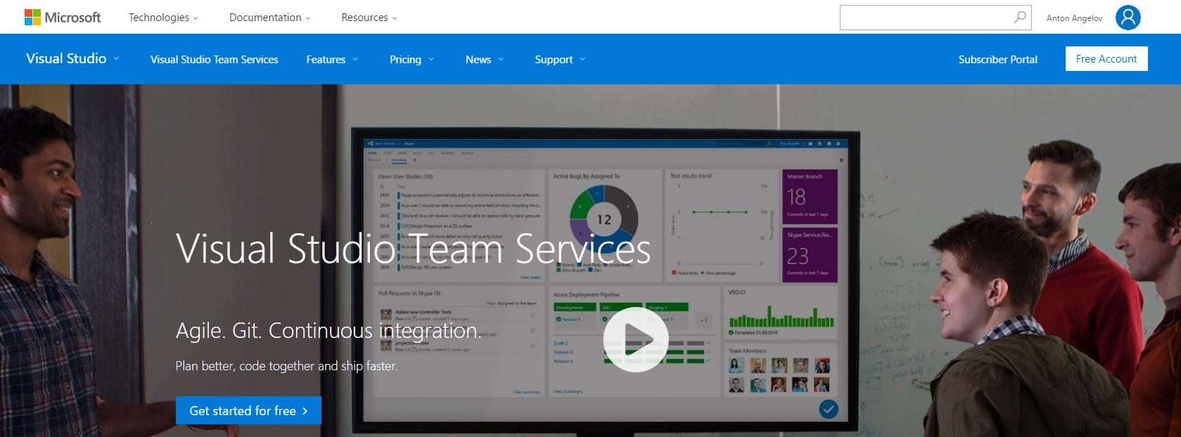 Visual Studio Online Services