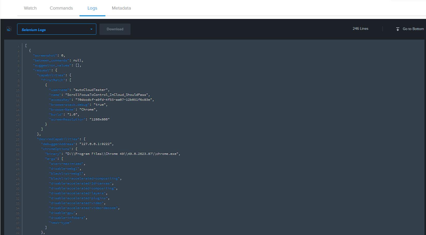 Execute UI Tests in the Cloud- SauceLabs