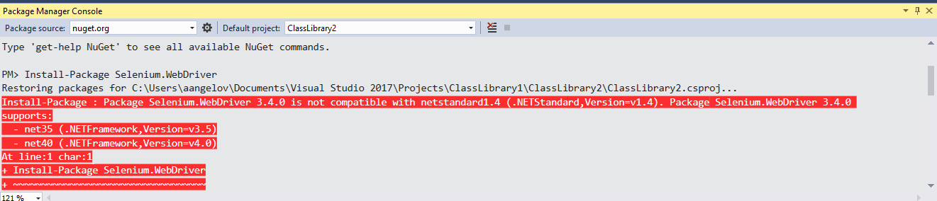 Selenium WebDriver +  NET Core 2 0- What Everyone Ought to Know